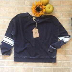 NWT True Craft Navy Sweatshirt #85 Jersey Medium